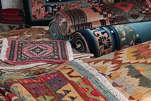 oriental rugs that will be cleaned by a carpet cleaning professional