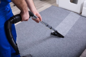 Professional carpet cleaning removing stains and smells from carpet