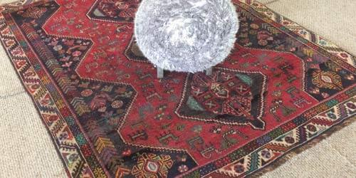 safedry technician cleaning oriental rug